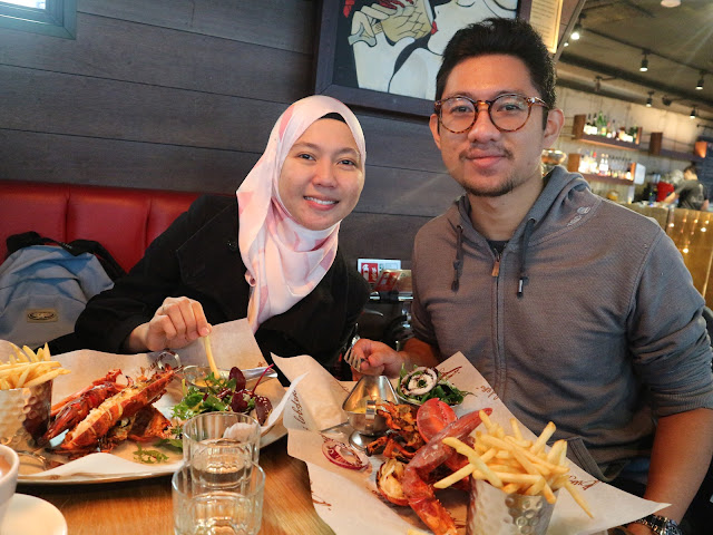 Menikmati Keenakan Lobster Di Burger and Lobster