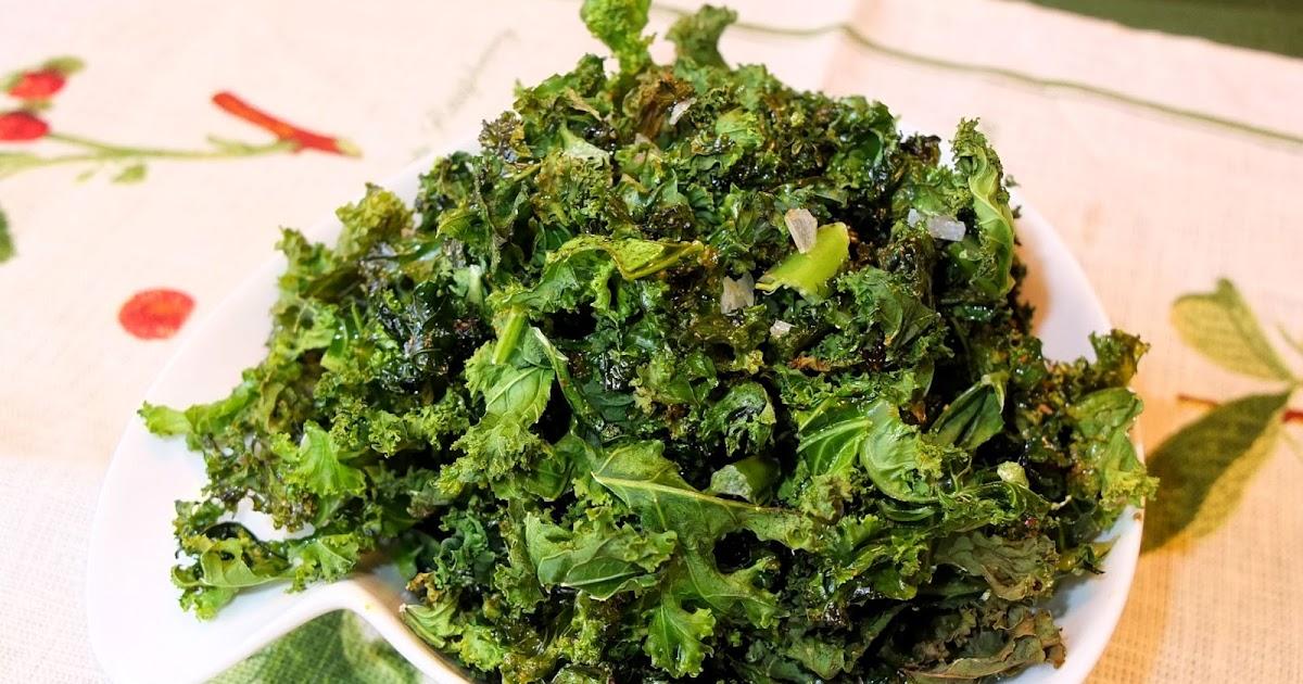 Cocinando con lola garc a chips de col kale - Cocinar col kale ...