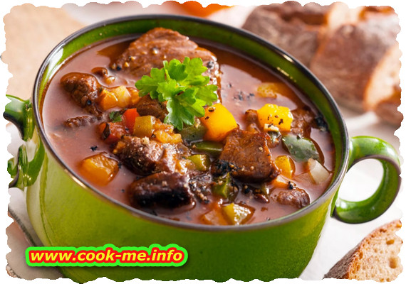 Veal soup