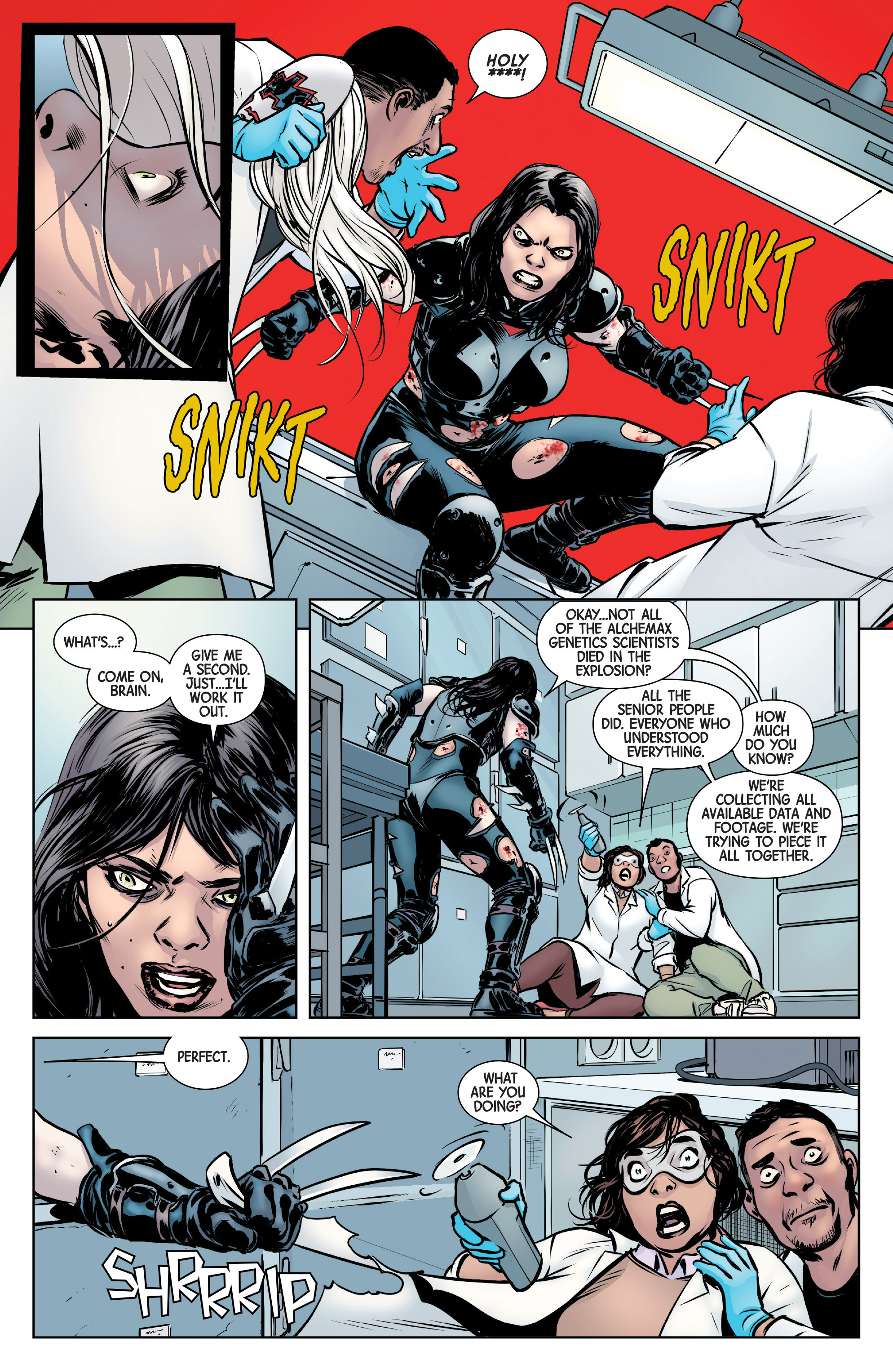 Read online All-New Wolverine (2016) comic -  Issue #6 - 10