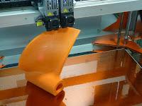 modèle pale hélice pour fonderie