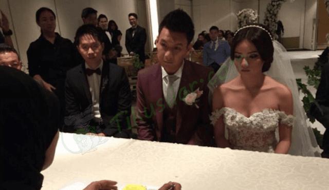 Menikah dengan Fandy Chow, Siapa Stella Cornelia?