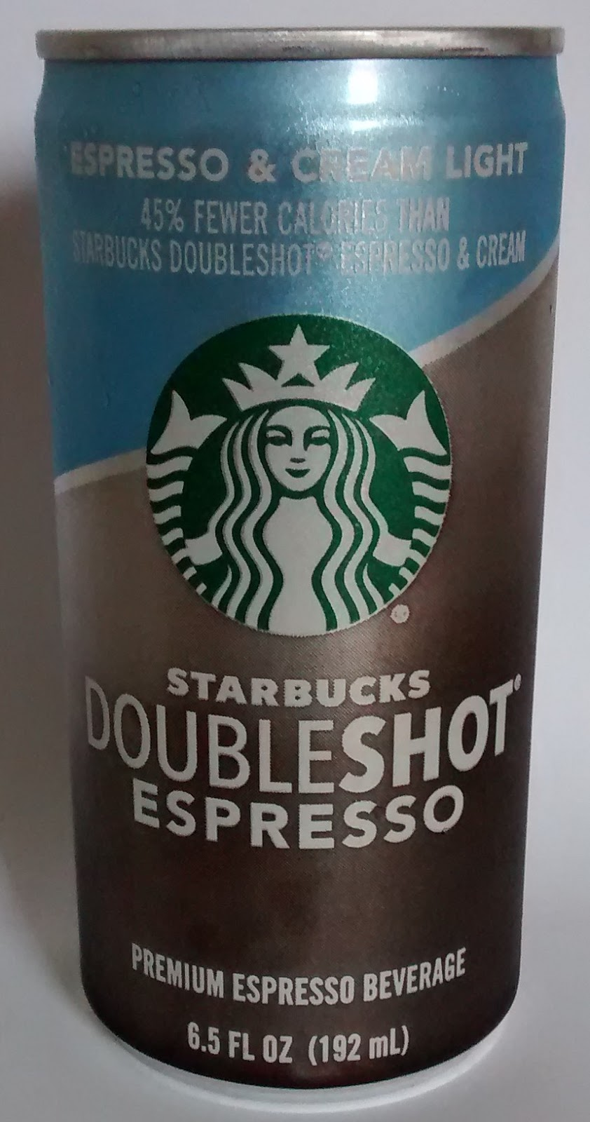 Caffeine King Starbucks Doubleshot Espresso Cream Light