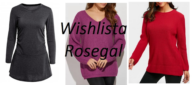 Shopping with ROSEGAL | Wishlista ROSEGAL