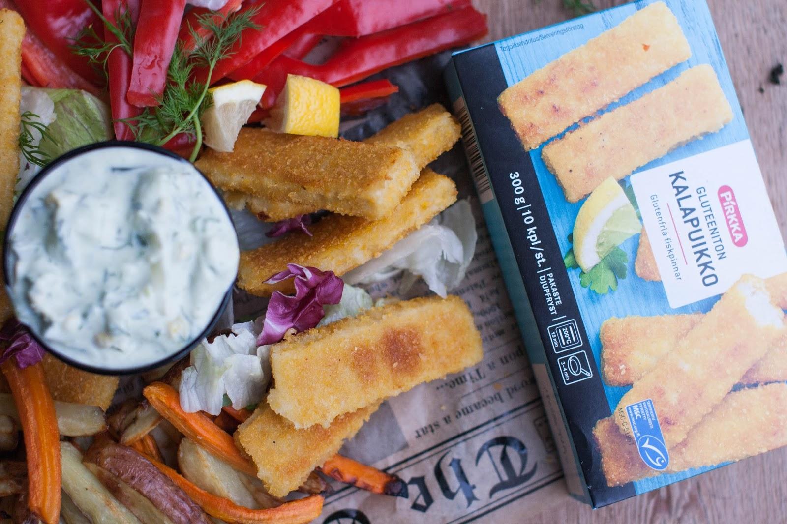 Kaikki itini reseptit fish chips kotityyliin for Fish n gari