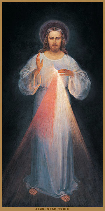 THE ORIGINAL IMAGE OF DIVINE MERCY IN VILNIUS, LITHUANIA