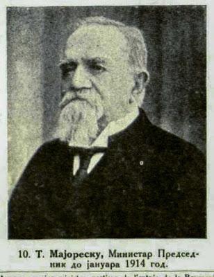 T. Majorescu, Prime Minister until January 1914