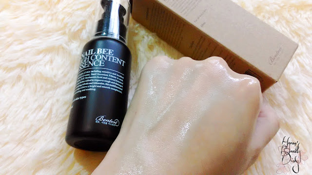 Review; Benton's Snail Bee High Content Essence