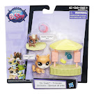 Littlest Pet Shop Small Playset Cheekers Pouring (#104) Pet