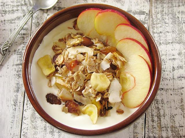 recette de granola bio et fait maison au seigle