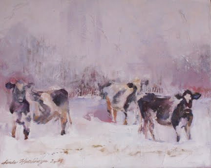 Heartland II - Winter Cows
