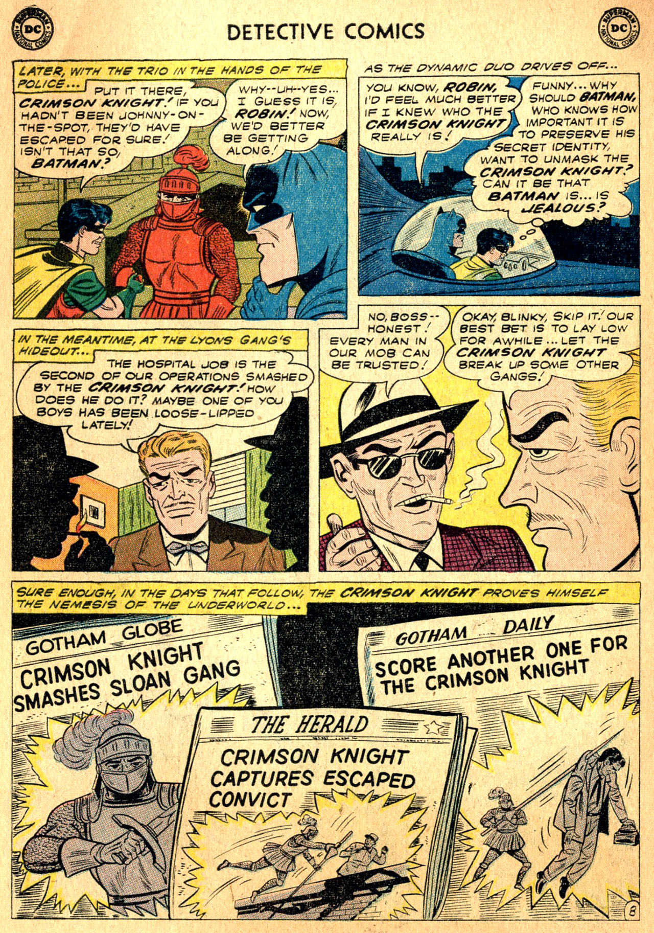 Read online Detective Comics (1937) comic -  Issue #271 - 10