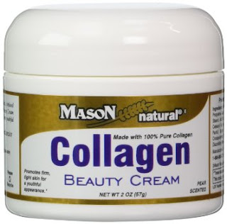 Mason Vitamins, Collagen Beauty Cream, Pear Scented, 2 oz (57 g)  كريم الكولاجين الرائع لبشرة طبيعية صافية