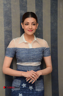 Actress Kajal Agarwal Latest Stills at Khaidi No 150 Movie Interview  0089.JPG