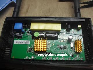 router dengan heatsink