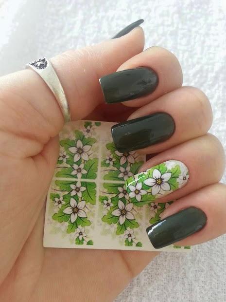 pretty nails art hand