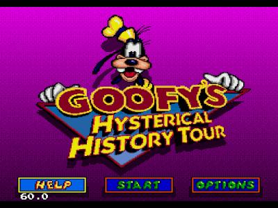 【MD】 高飛狗的驚異之旅原版+Hack血不減版,Goofy.s.Hysterical.History.Tour!