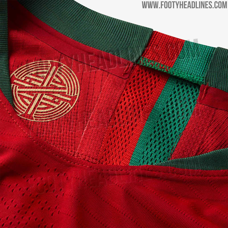 buy popular 64b61 0be3c Portugal 2018 World Cup Home Kit Released - Footy Headlines