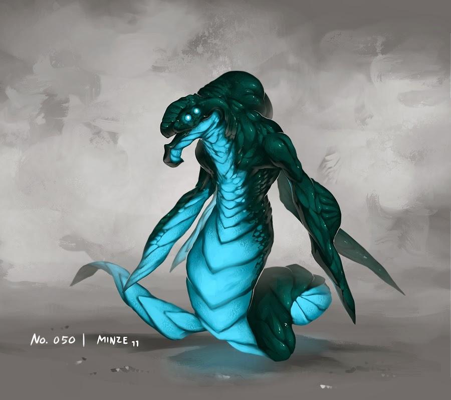 Kaiju Battle: SATURDAY SHOWCASE : Cool Monster Artwork By