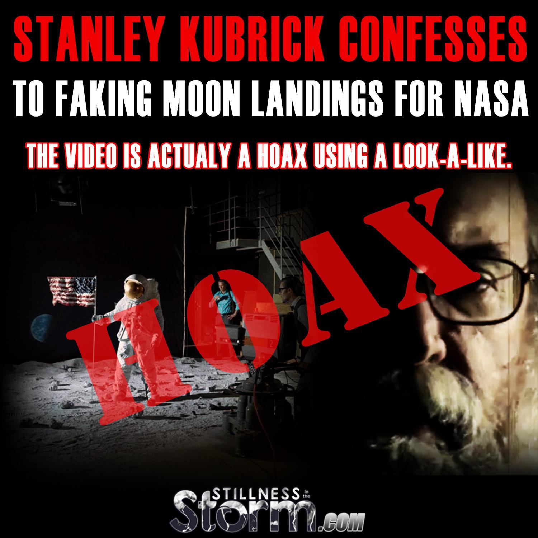 HOAX - Stanley Kubrick Confesses to Faking Moon Landings ...