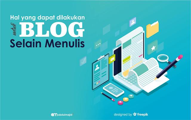 dilakukan untuk blog