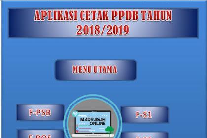 Aplikasi PPDB Madrasah dan Sekolah 2018/2019