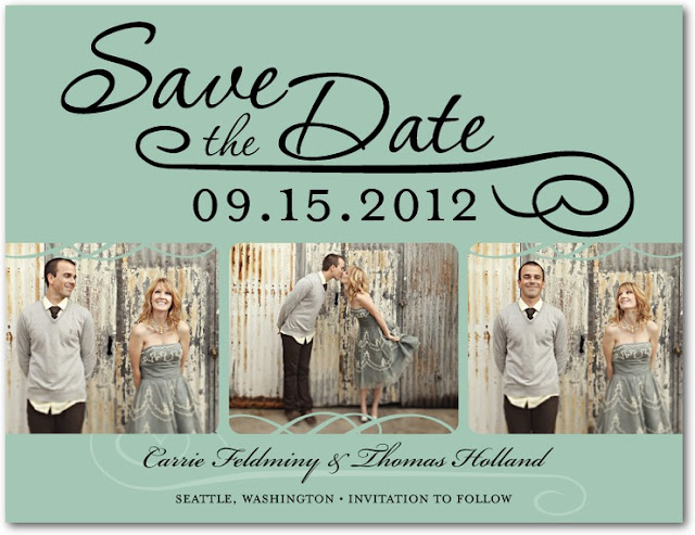 Wedding Save The Date And Invitation Packages
