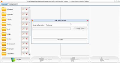MisFavoritos: Programa para guardar tus enlaces web favoritos y contraseñas