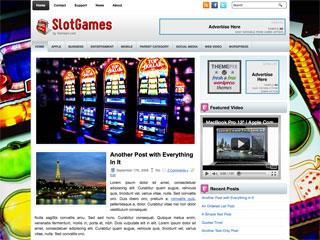 SlotGames Free WordPress Theme