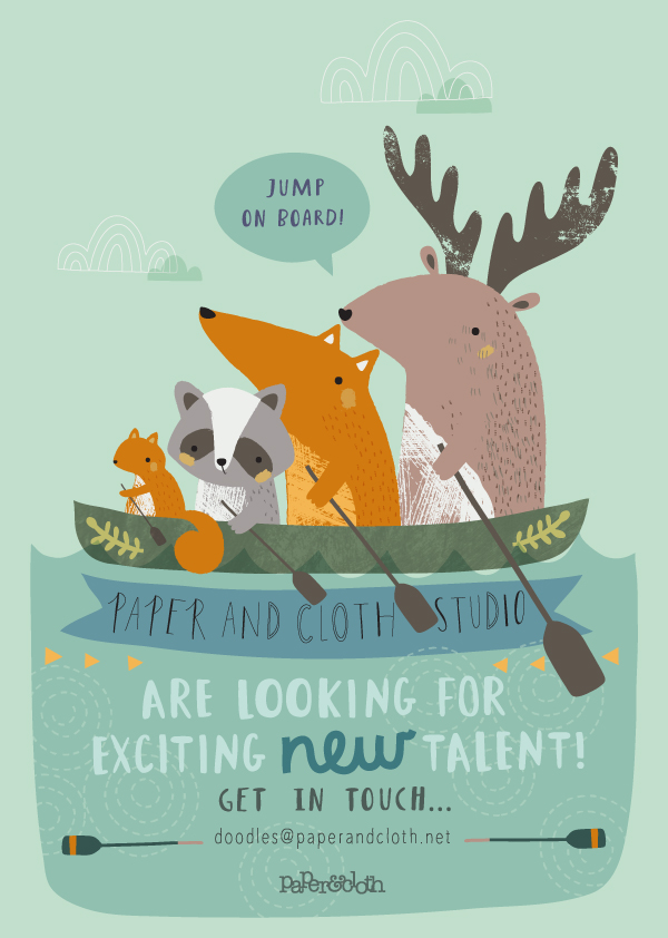 paperandcloth  looking for exciting new talent