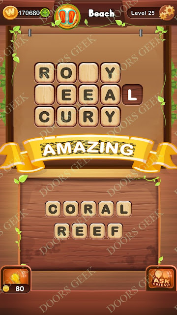 Word Bright Level 25 Answers, Cheats, Solutions, Walkthrough for android, iphone, ipad and ipod