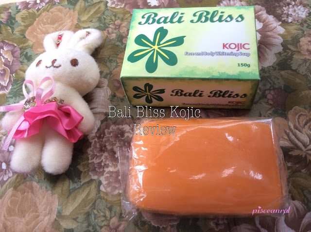 Bali Bliss Kojic Face and Body Whitening Soap Review