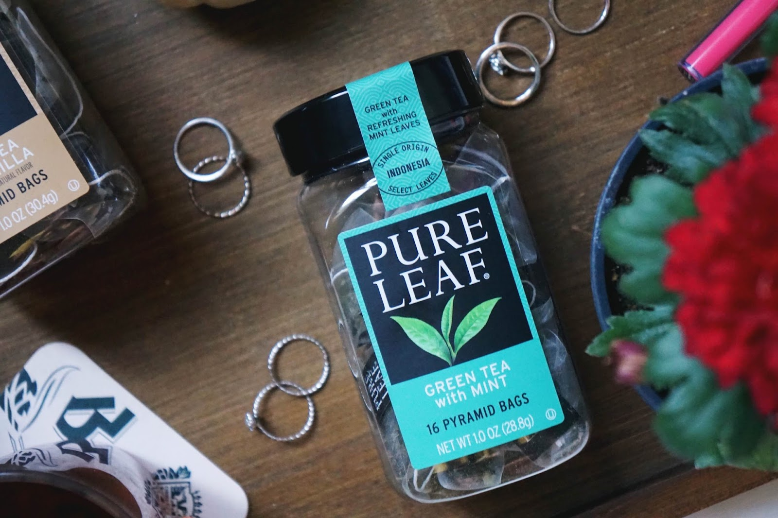 pure leaf green tea