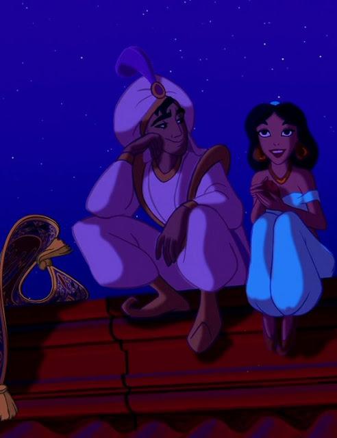 Aladdin curiosidades personagens