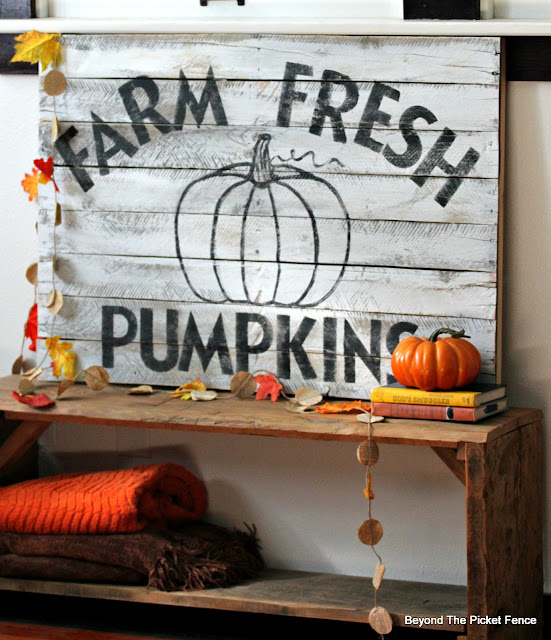 Farmhouse Sign for Fall