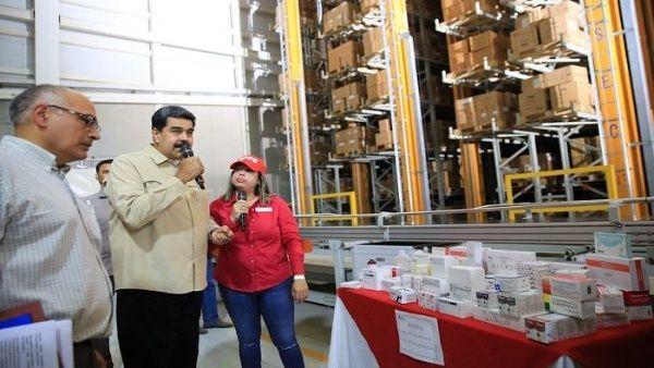Presidente Maduro: EE.UU. retiene $5 mil mdd para medicamentos