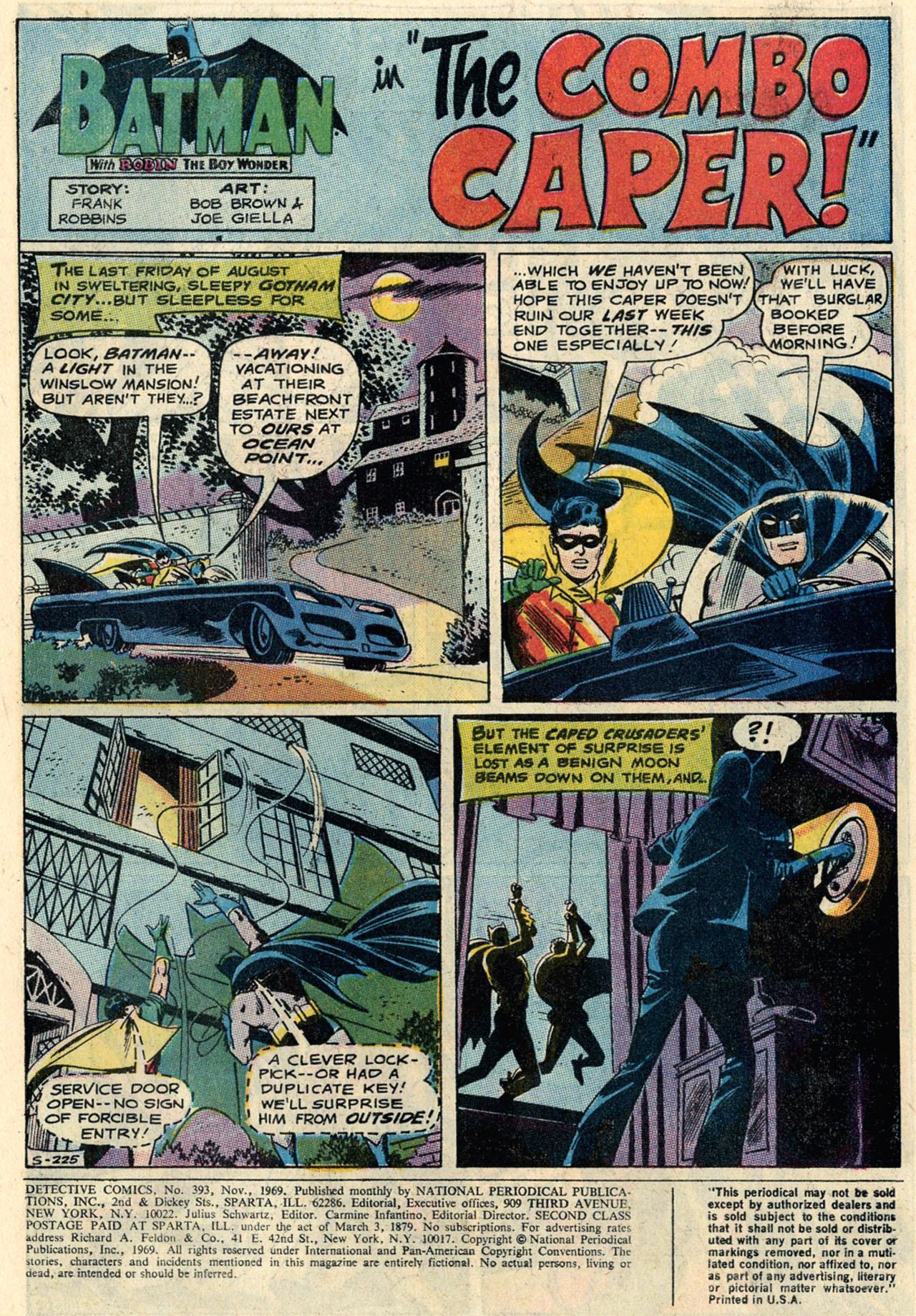 Detective Comics (1937) 393 Page 2