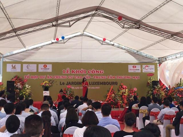 Lễ động thổ dự án chung cư D'. Le Jardin du Luxembourg Tân Hoàng Minh Trần Duy Hưng