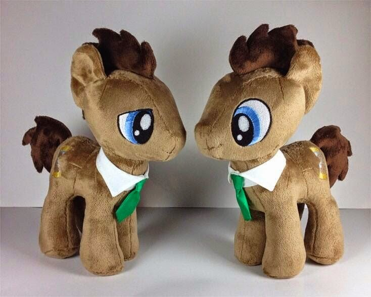 Doctor Whooves 4th Dimension Plush