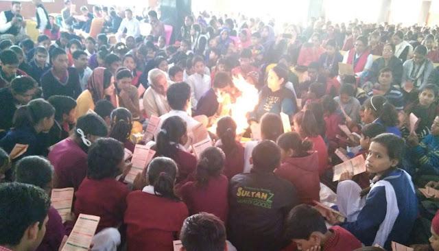 Organizing National Service Mahayagya by Indian indigenous organization on Victory Day at Gurjar Bhawan