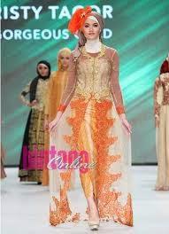 Inspirasi Gaun Kebaya Muslim Terbaru