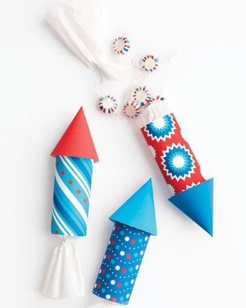 These DIY Memorial Day candy holders are fun to make.