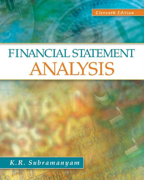 Slides Financial Statement Analysis Th Edition By Subramanyam