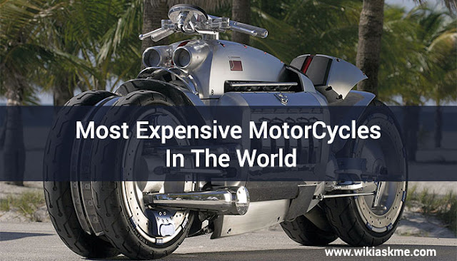 10 Most Expensive MotorCycles In The World: WikiAskme