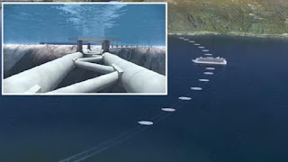 Norway engineers propose world first submerged floating road tunnel