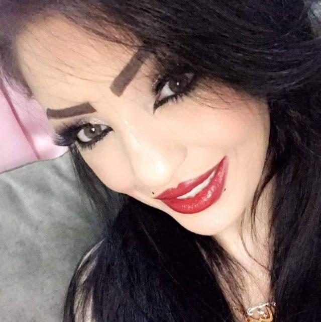 """""""منال الحلبي """"رزقت بطفلتها الجديدة اليوم وسمتها منال على اسمها"""