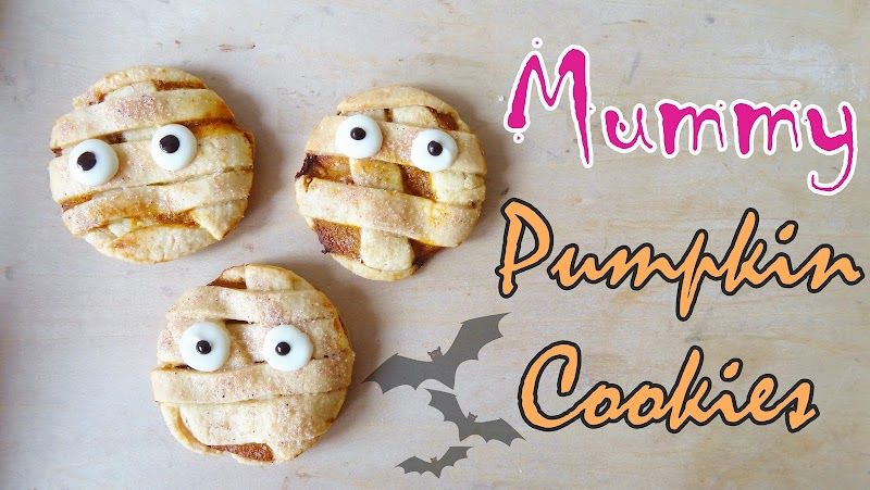 Mummy Pumpkin Cookies 木乃伊南瓜曲奇
