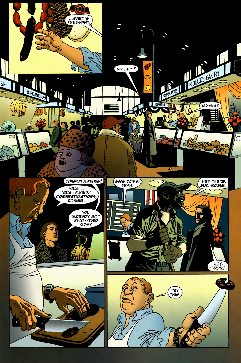 Read online 100 Bullets comic -  Issue #70 - 4