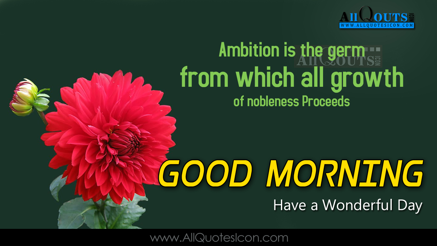 Good Morning Quotes Motivational In English : Good morning english greetings hd wallpapers best
