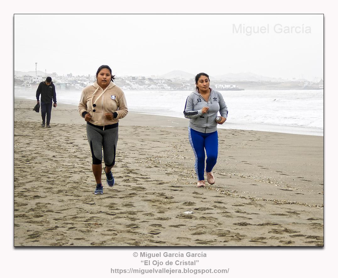 Playa Arica, Lurín.- Mañanitas deportivas.
